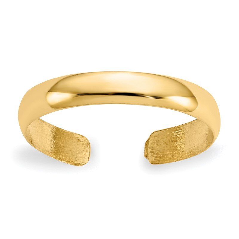 J.F. Kruse Signature Collection 14k High Polished Toe Ring