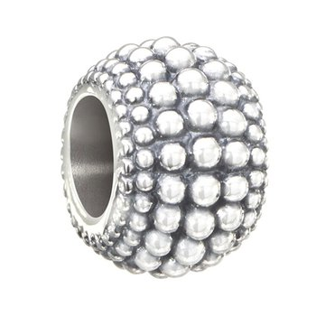 Dot Spacer Bead, Light Oxidized