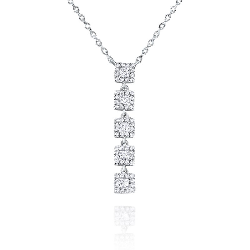 KC Designs 14k Gold and Diamond Linear Necklace