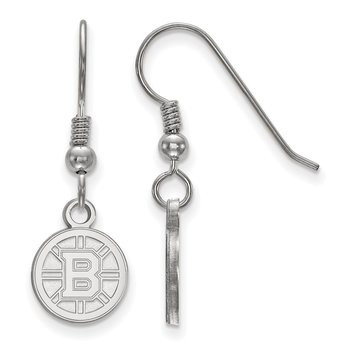 Sterling Silver Boston Bruins NHL Earrings