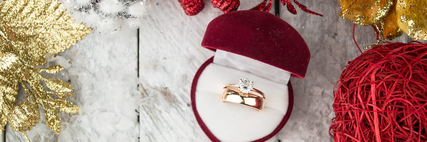Engagement Rings Red Box