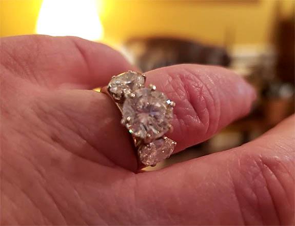 Sanitation Crew Helps GA Woman Rescue 3-Stone Diamond Ring From County Landfill