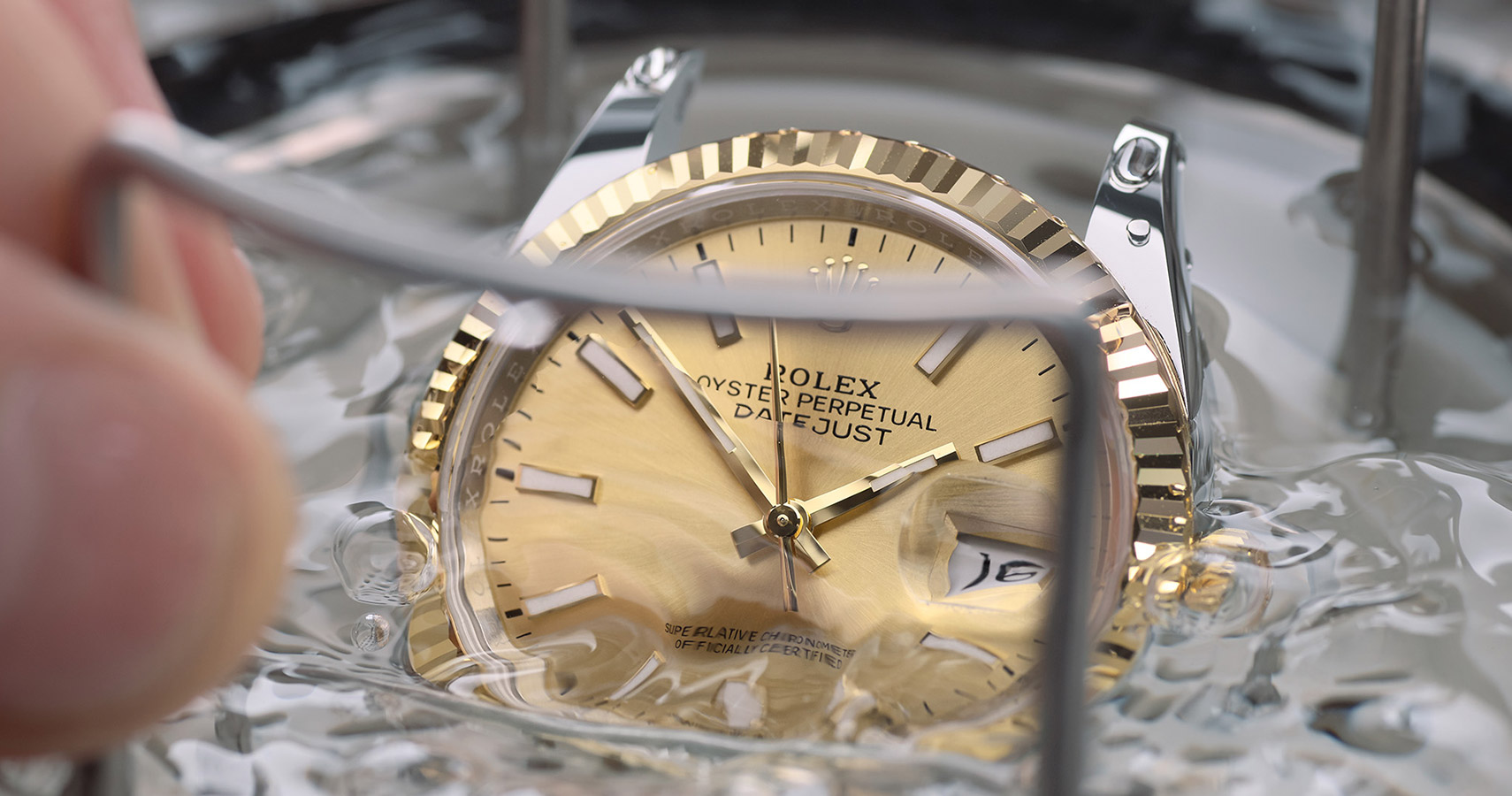 Rolex Servicing Procedure Waterproofness Test