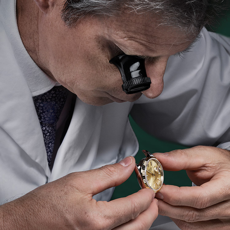 Rolex Servicing Procedure Assessment Of The Watch